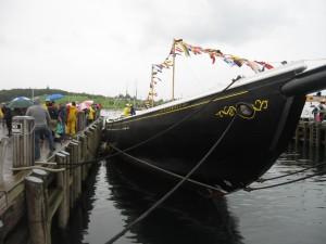 Bluenose III - Launch Day