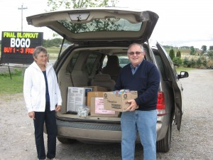 Berwick Food Bank Donation