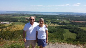 Paul & Nancy at The Lookoff